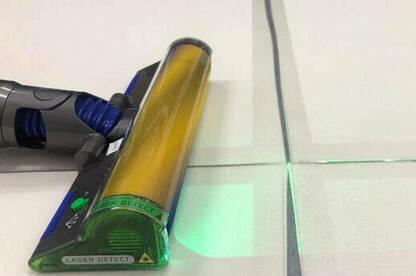 Dyson V15 laser head
