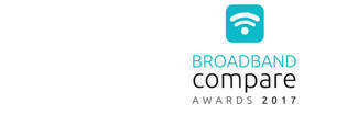 Broadband Compare Awards 2017 logo
