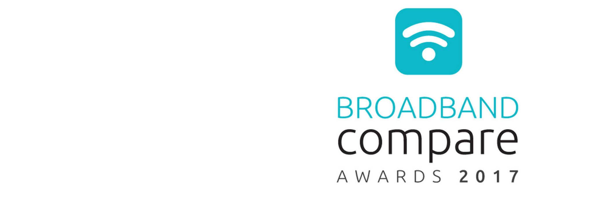 Broadband Compare Awards 2017 logo