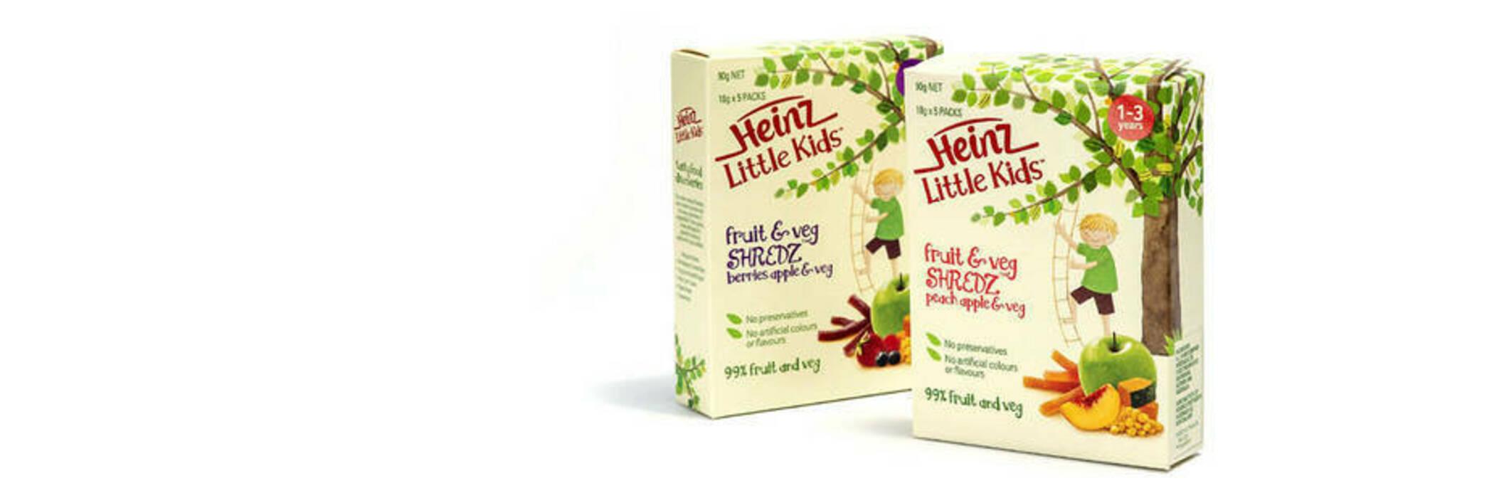 Heinz Little Kids Shredz