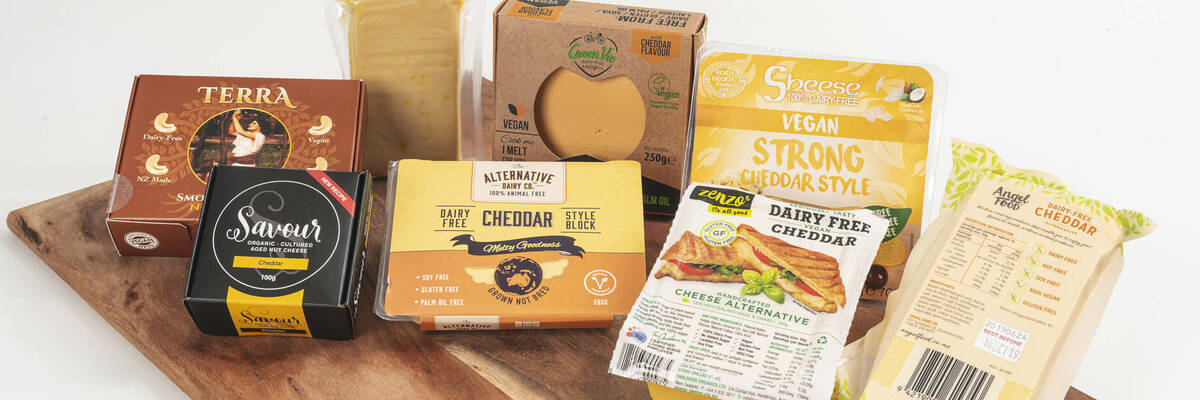 Dairy-free cheeses