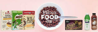 Winners of Consumer NZ's Bad Taste Food Awards.
