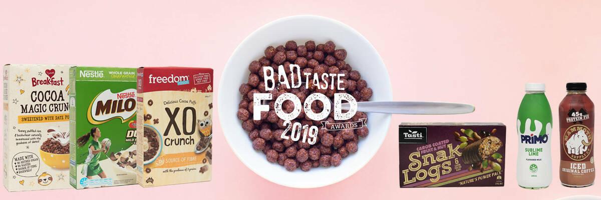Winners of Consumer NZ's Bad Taste Food Awards.