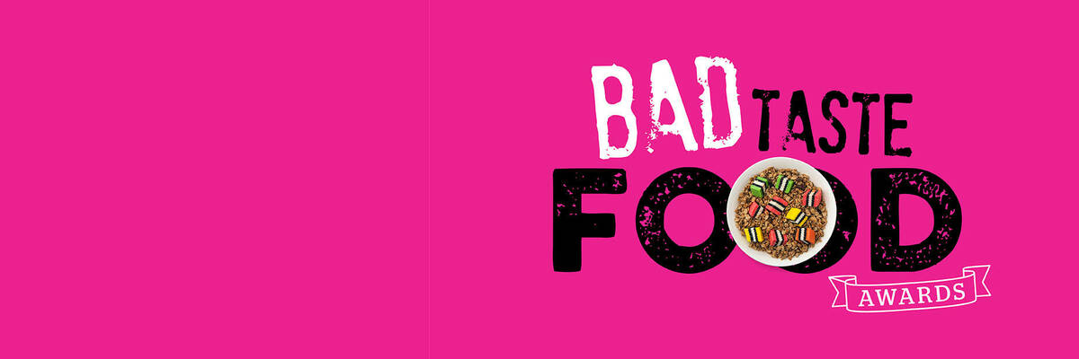 Bad taste food awards pink web
