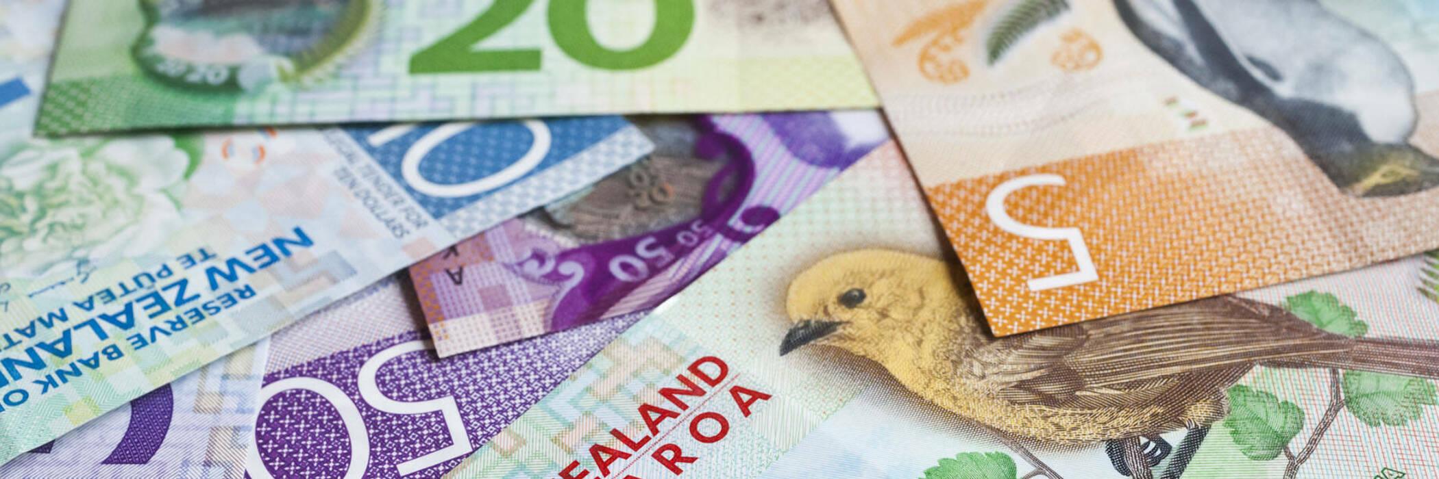 New Zealand bank notes
