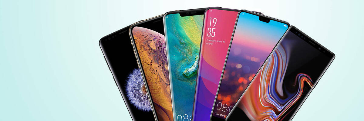 2018 flagship mobile phones