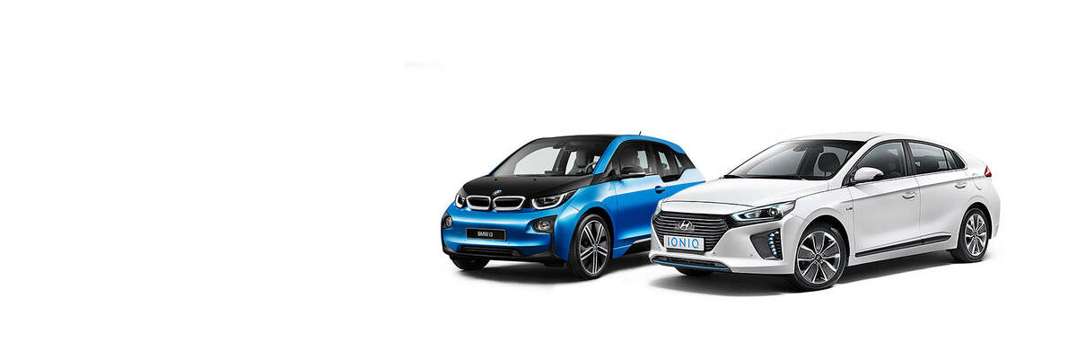 BMW i3 and Hyundai Ioniq