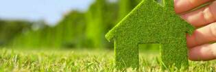 Green homes hero