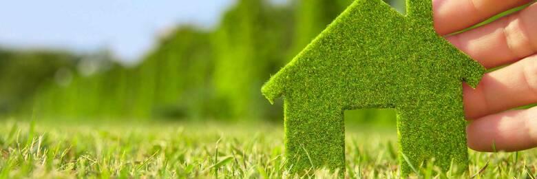 Green homes hero