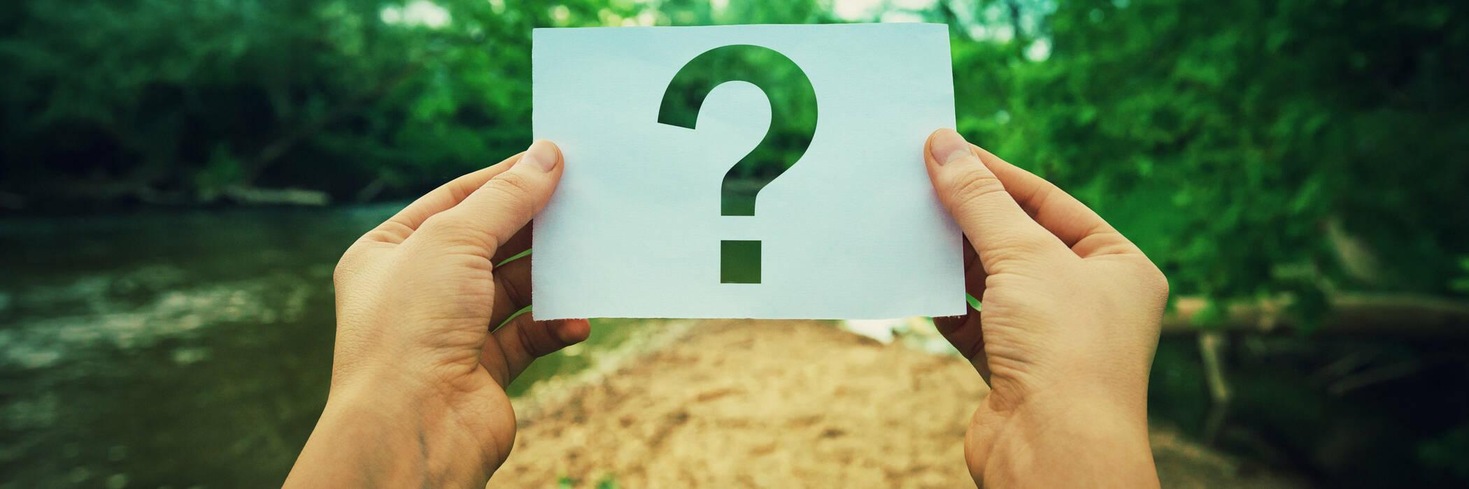 Question mark over environmental landscape