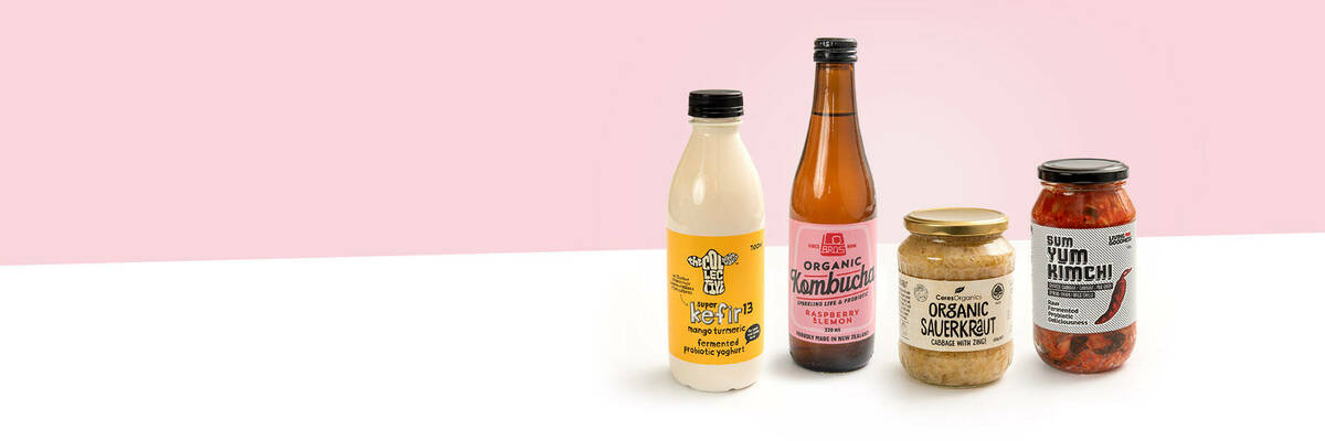 Fermented food products