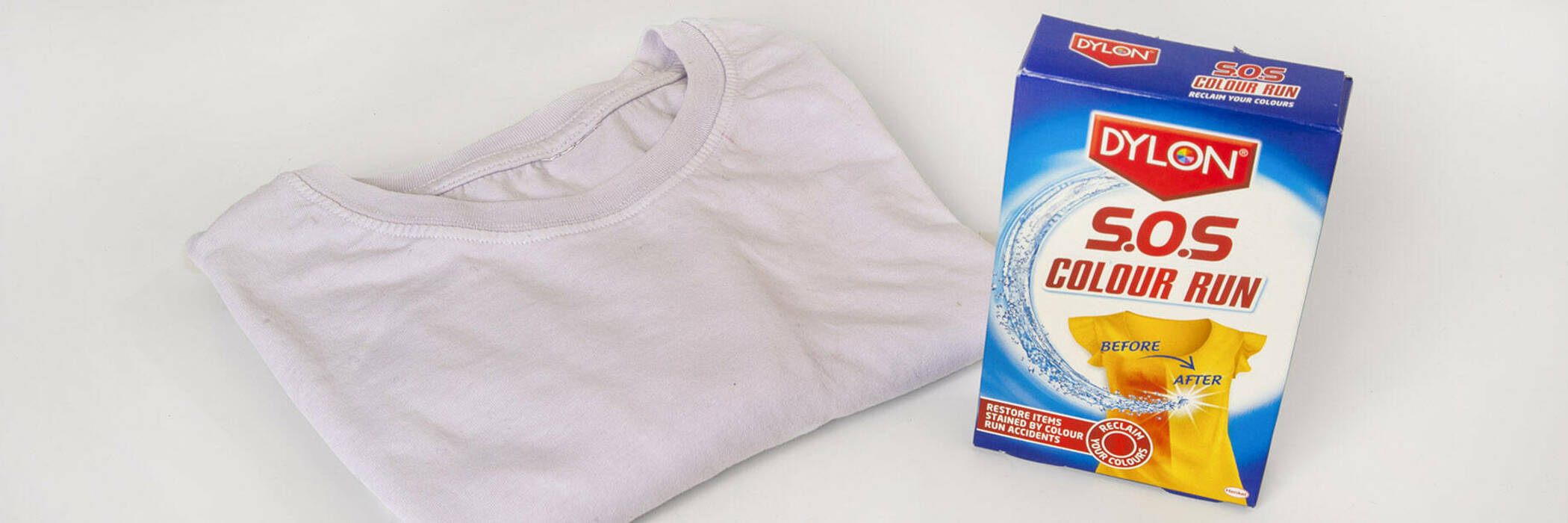 Dylon SOS box with t-shirt