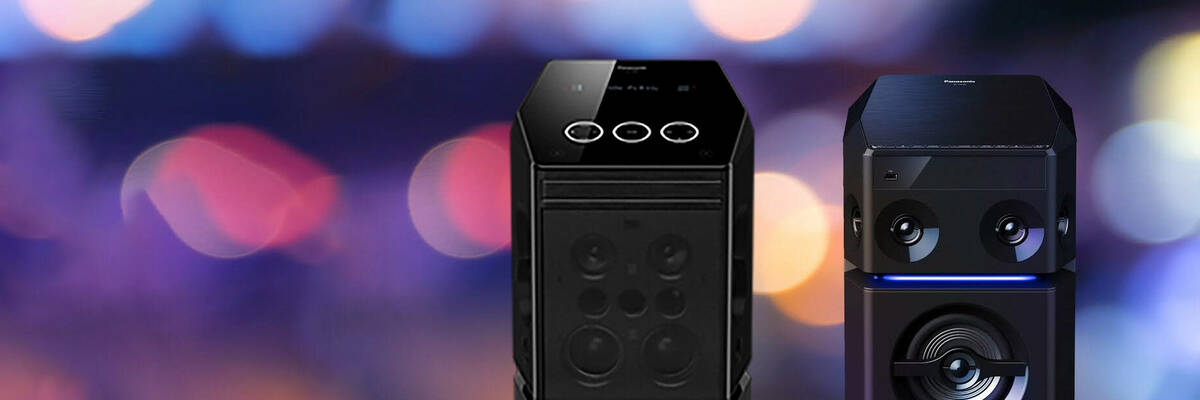 panasonic bluetooth party speakers