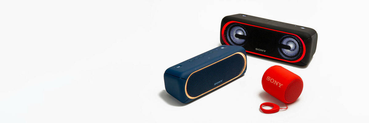 Sony SRS-XB30, SRS-XB40, SRS-XB10 Bluetooth speakers