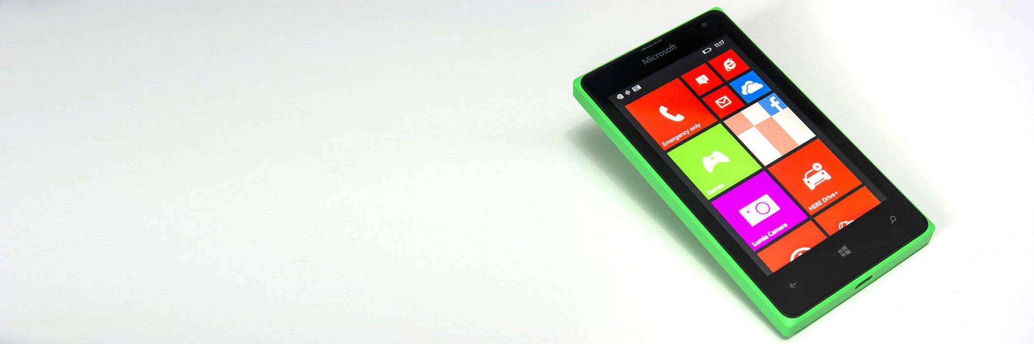 First look windows lumia 435 hero