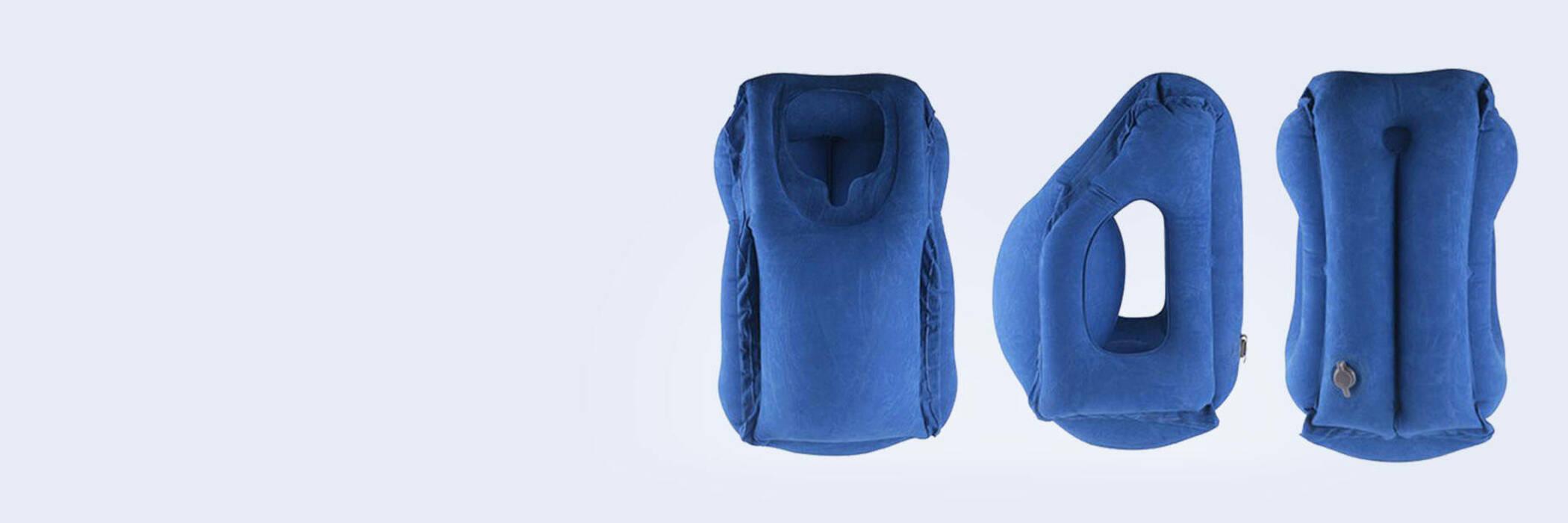 Blue Woollip travel pillow