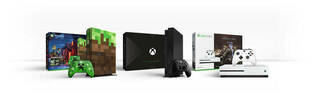 Xbox One X consoles