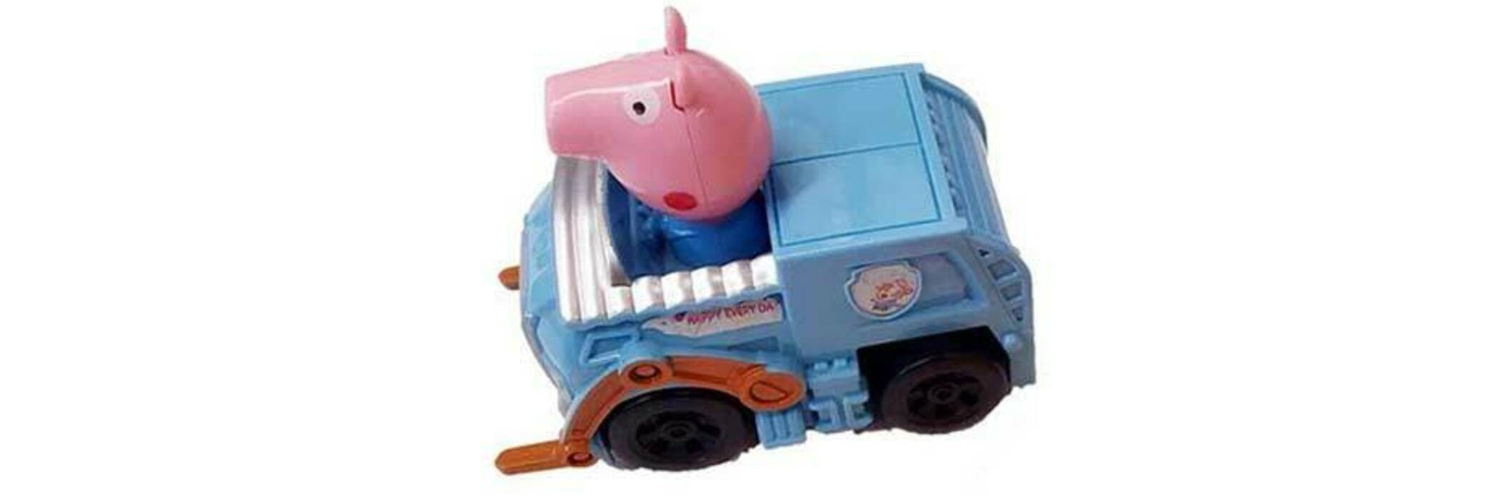 Pig toy from First Mart.