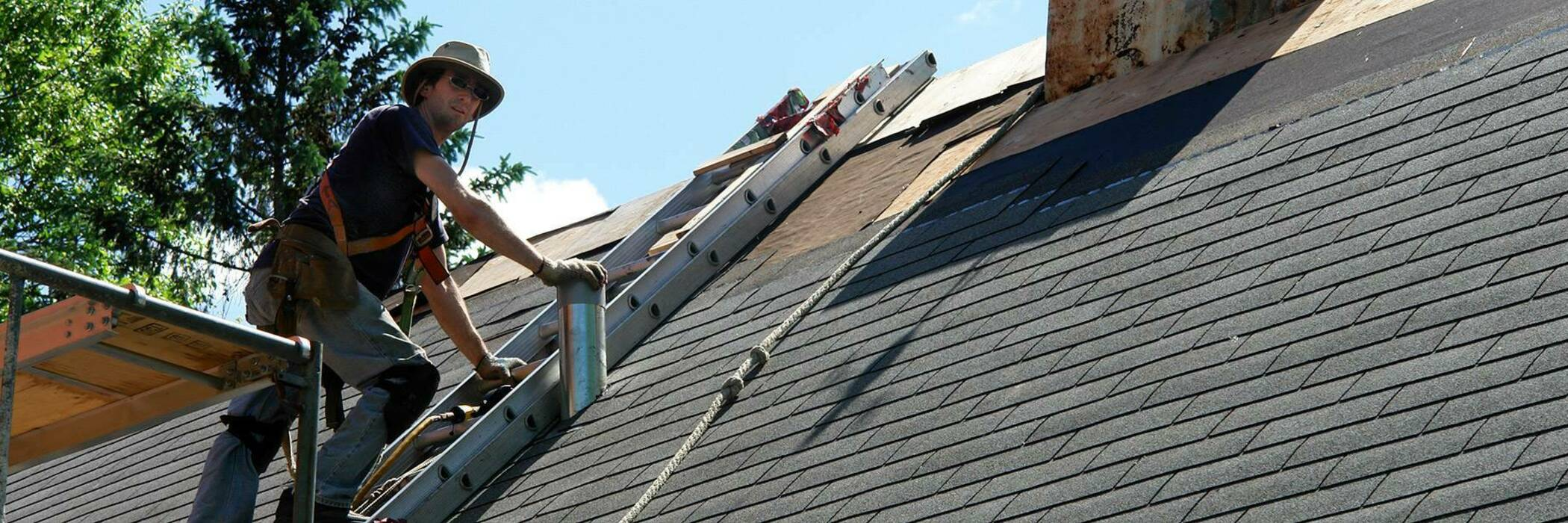 General roof maintenance hero