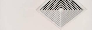 ventilation filter in ceiling