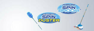 Hurricane Spin Duster and Spin Broom