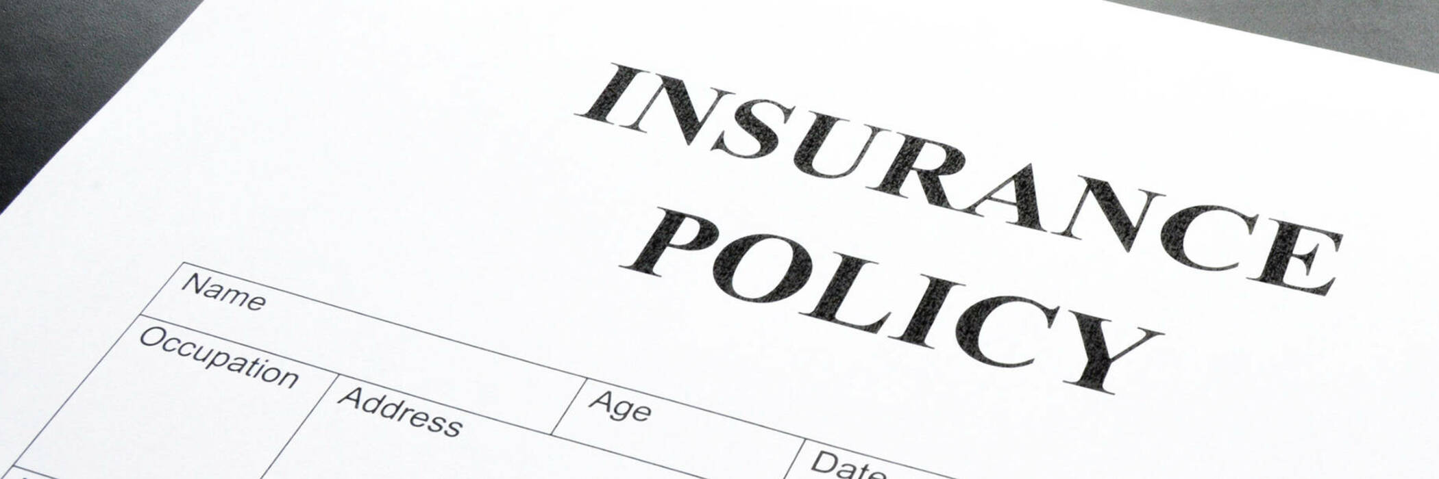 Insurance policy.