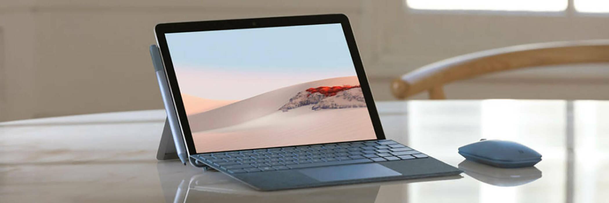 Surface go 2 header