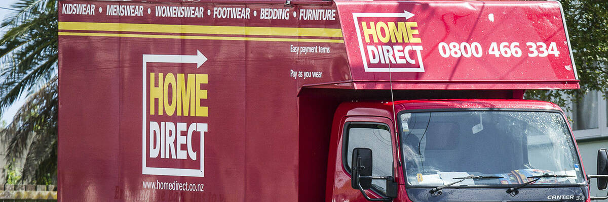 Home Direct mobile truck shop
