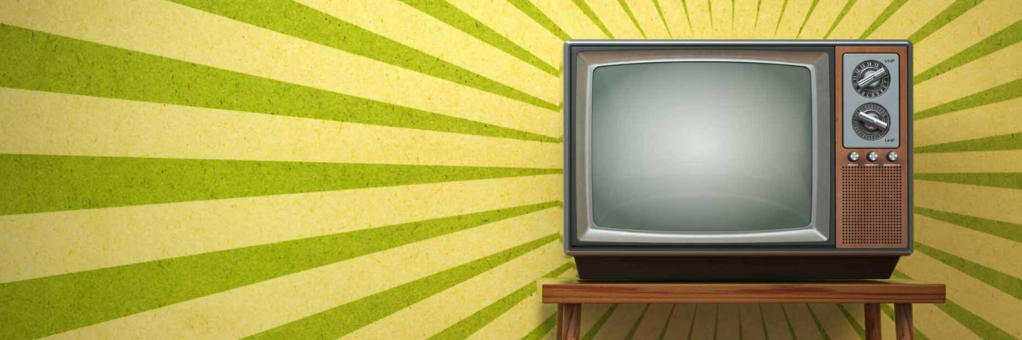 Cathode Ray TV old technology