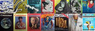 Consumer magazine covers
