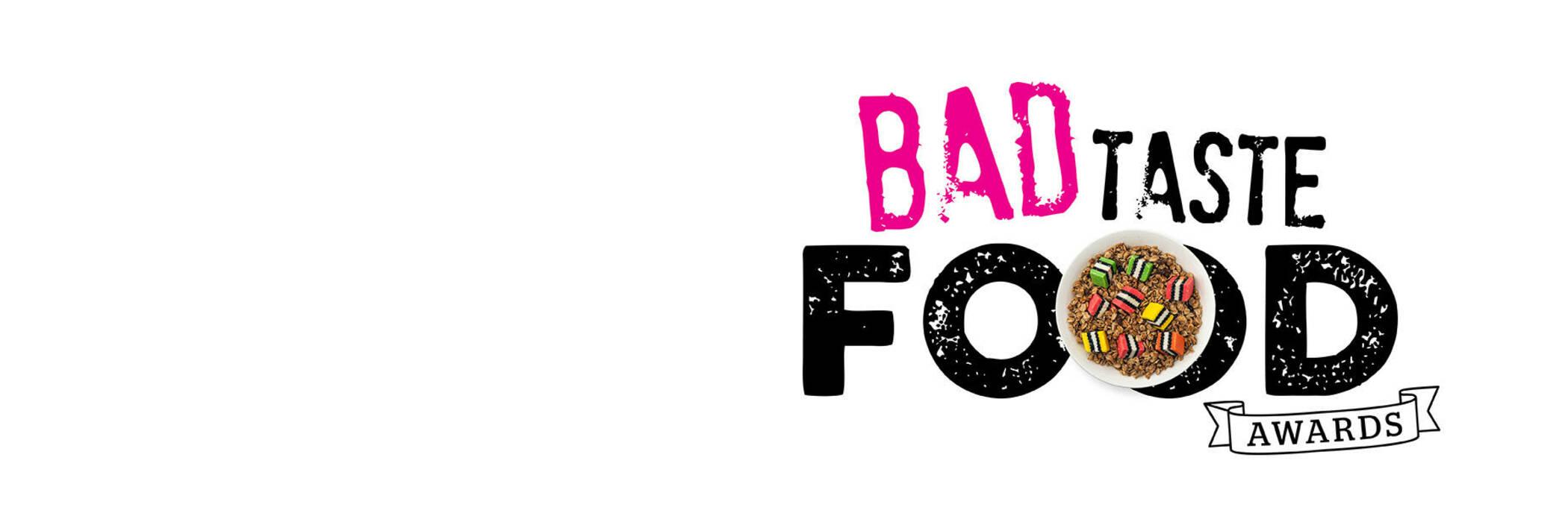 16sept bad taste food awards white web hero