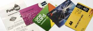 Petrol loyalty cards/vouchers