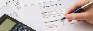 Electricity and gas bills
