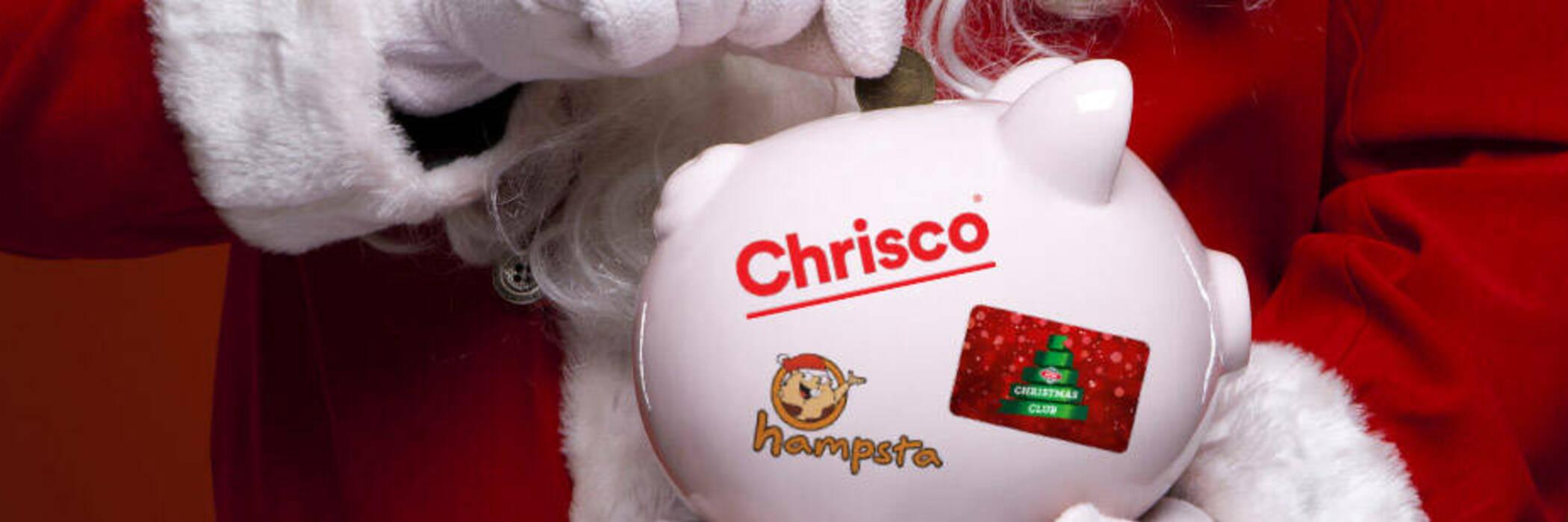 Santa and savings bank