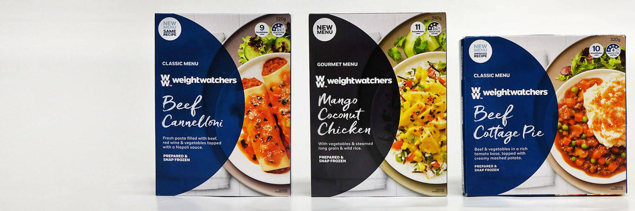 Weight Watchers frozen meals