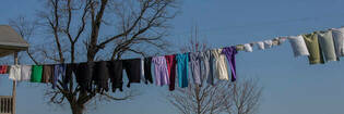 The best way to dry laundry in winter