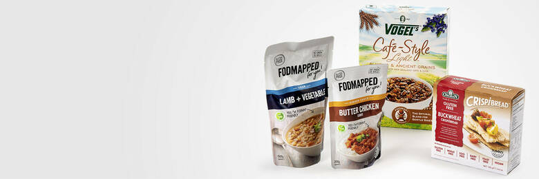 Group of low-FODMAP products