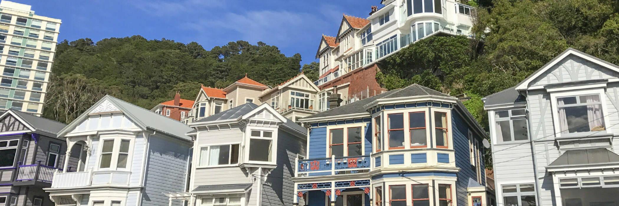 New Zealand houses