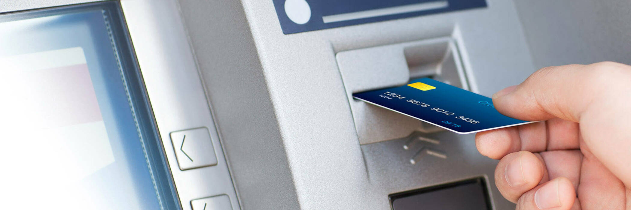 using ATM machine
