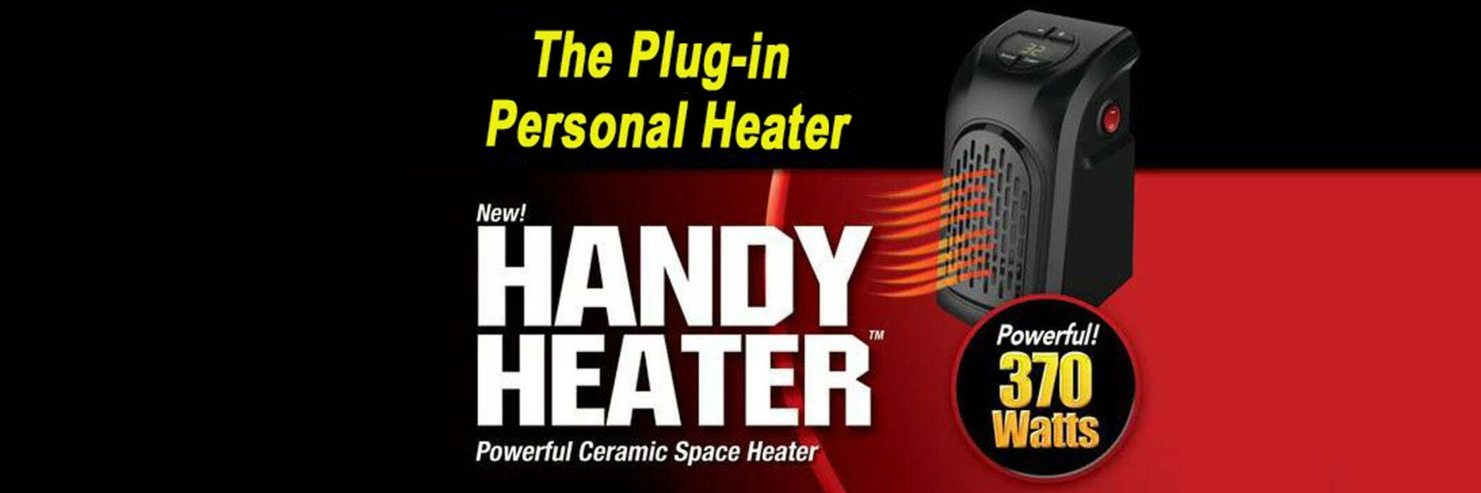 As seen on TV handy heater