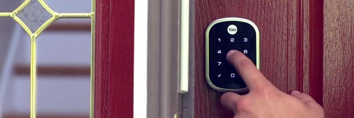 Yale Assure SL lock on door