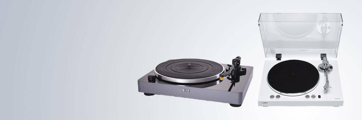 Yamaha MusicCast Vinyl 500 and Elac Miracord 50