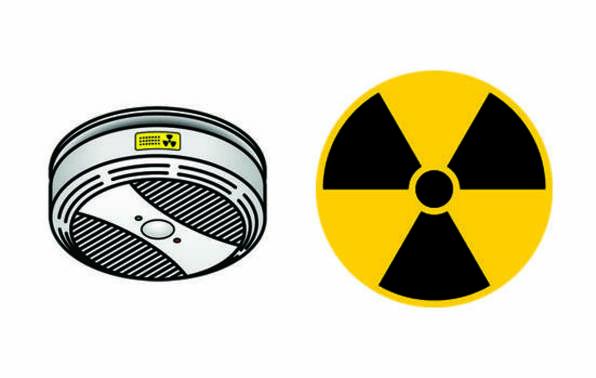 Radiation symbol example promo