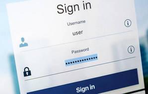 Password manager login