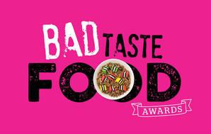 Bad taste food awards pink web promo default