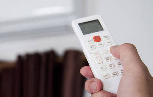 Heat pump and remote