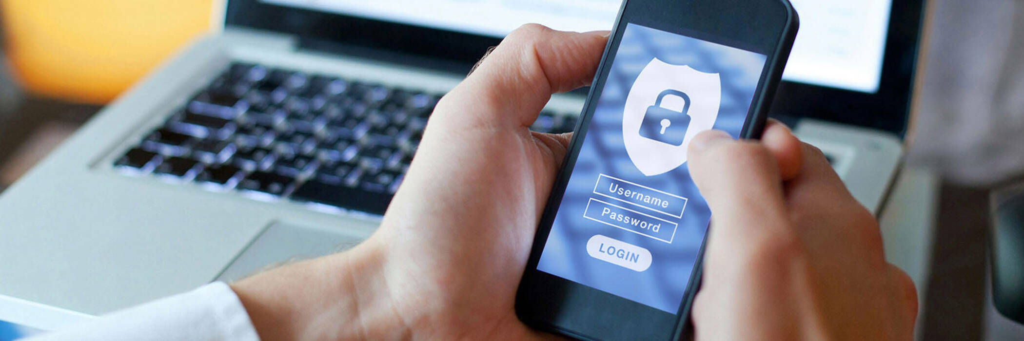 Phone security password