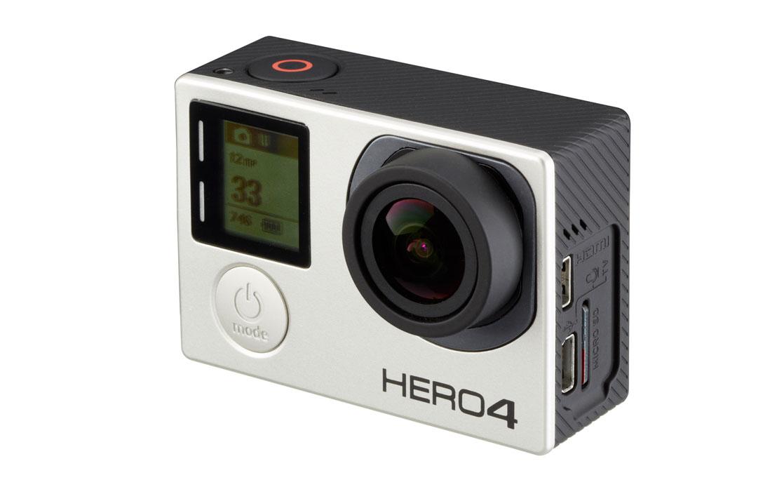 GoPro Hero4 Silver Standard Edition