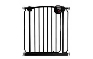 Smart System Swing Back Gate Black