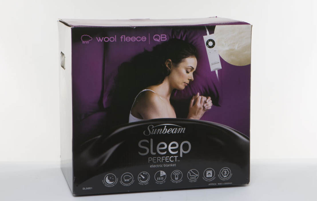 Sunbeam Sleep Perfect Wool Fleece Queen BL5651